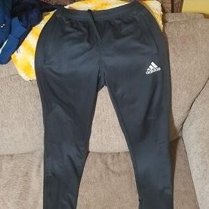Pair of Adidas zipup pants.